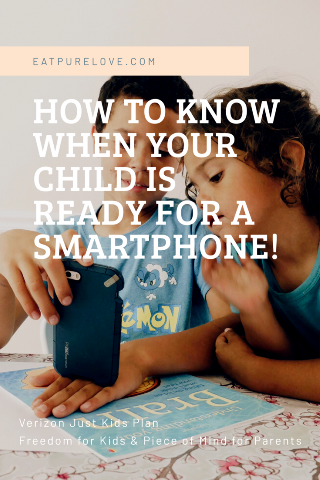 smartphone Verizon Just Kids Plab