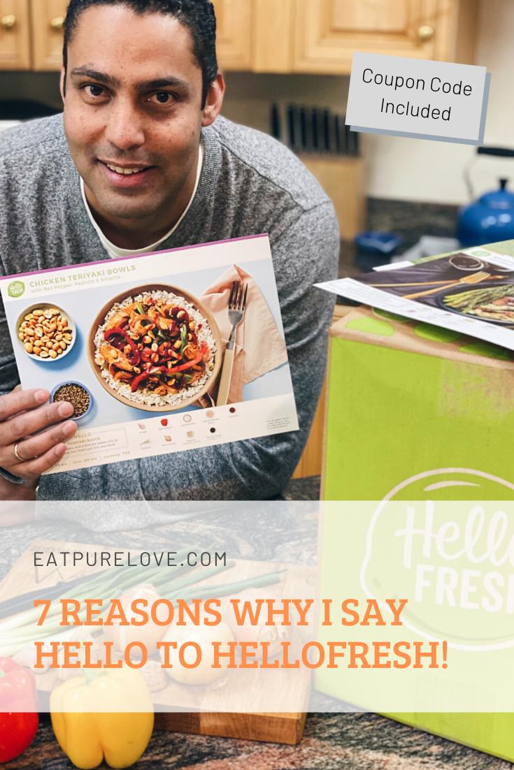 7 Reasons Why I say Hello to HelloFresh!